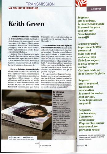 keith green,foi,croire